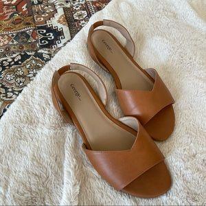 🔵Tan Sandals